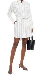 ATM Anthony Thomas Melillo Belted Shirtdress